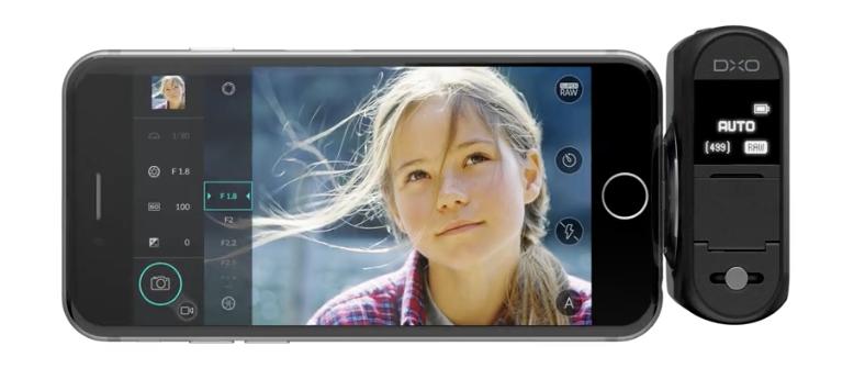 DxO ONE фотокамера к iPhone